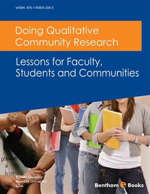 Doing Qualitative Community Research: Lessons for Faculty, Students and Communities