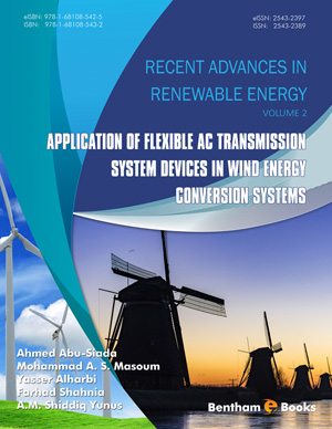 Application of Flexible AC Transmission System Devices in Wind Energy Conversion Systems