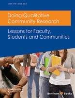 Bentham ebook::Doing Qualitative Community Research: Lessons for Faculty, Students and Communities
