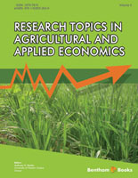 Bentham ebook::Research Topics in Agricultural and Applied Economics