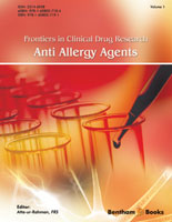 .Frontiers in Clinical Drug Research – Anti Allergy Agents.