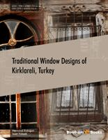 Bentham ebook::Traditional Window Designs of Kirklareli, Turkey