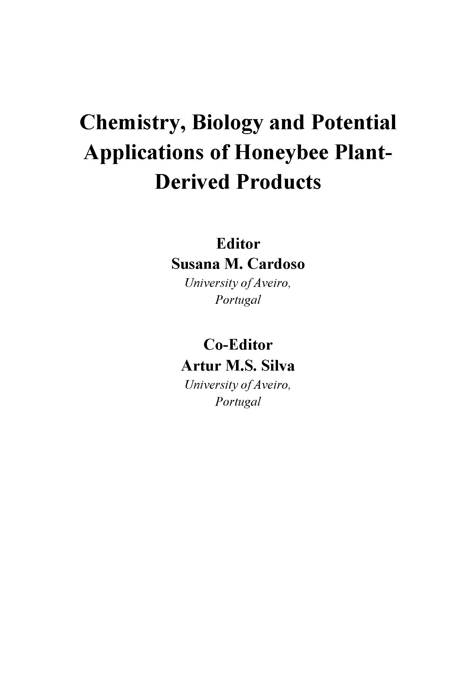 Chemistry biology and potential applications of honeybee plant chemistry biology and potential applications of honeybee plant derived products related journals fandeluxe Gallery