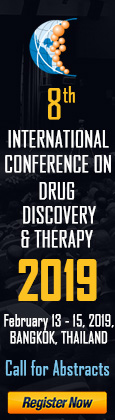International Conference On Drug Discovery & Therapy 2019