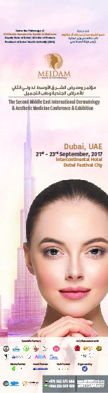 2nd Middle East International Dermatology & Aesthetic Medicine Conference & Exhibition (MEIDAM) The House of Dermatology