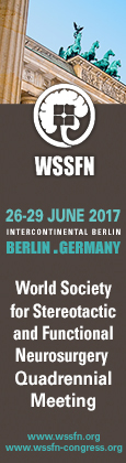 World Society for Stereotactic and Functional Neurosurgery Quadrennial Meeting