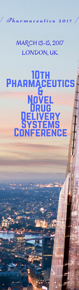 10th International Conference and Exhibition on Pharmaceutics & Novel Drug Delivery Systems