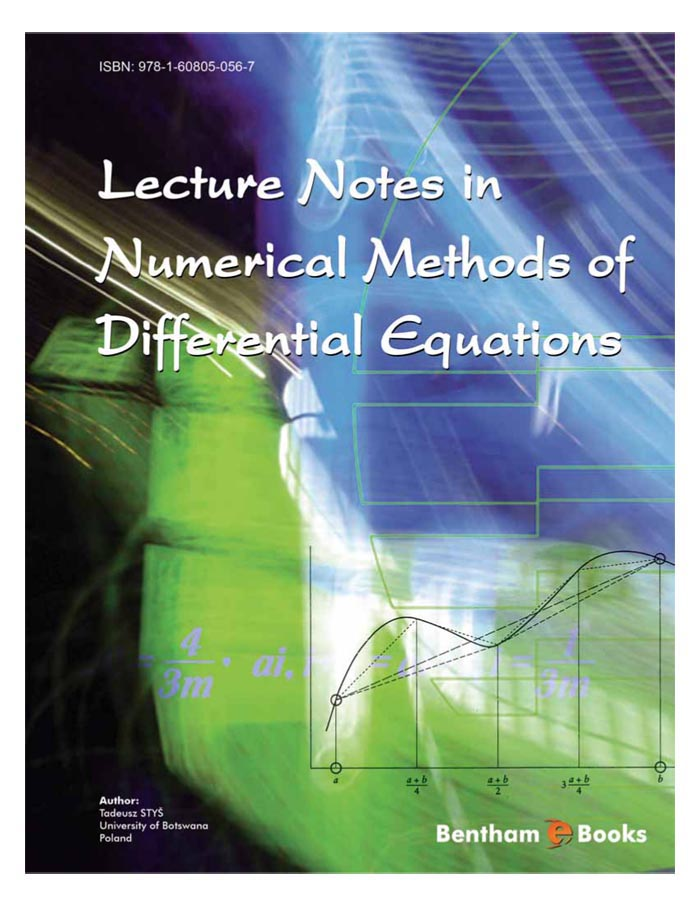 Lecture Notes in Numerical Methods of Differential Equations