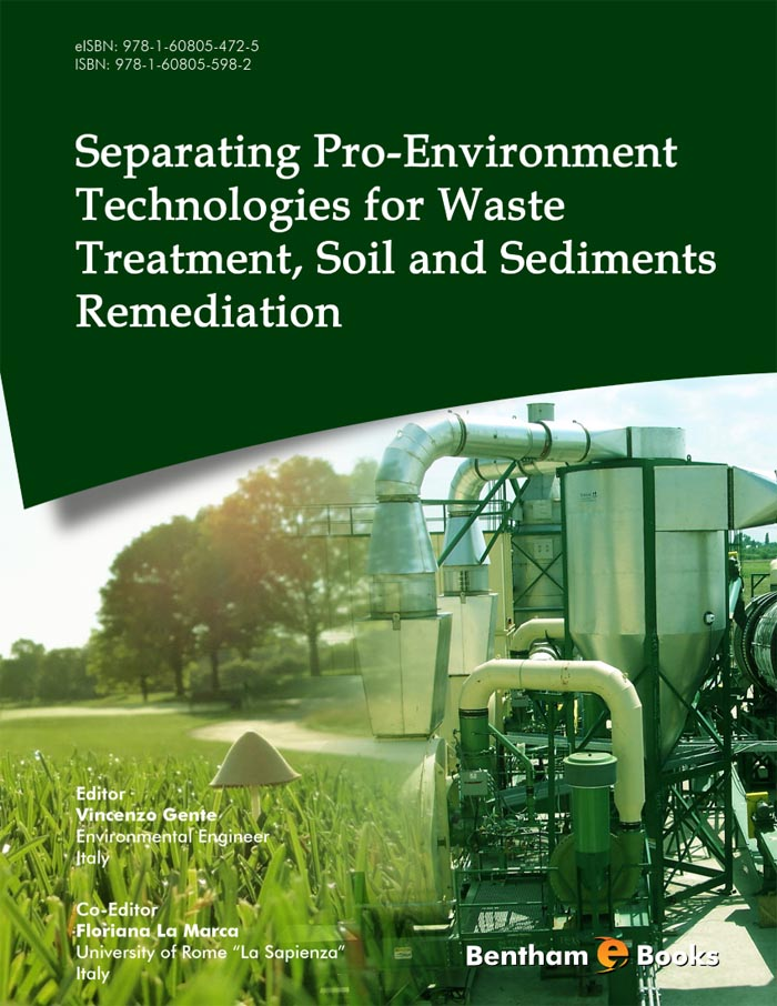Separating Pro-Environment Technologies for Waste Treatment, Soil and Sediments Remediation